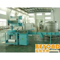 China Automatic PE Film Heat Shrink Wrapping Packing Machine / Machinery For Bottle on sale