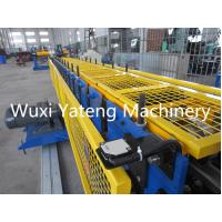 Quality Color Steel High Tech Gutter Roll Forming Machine With 1 Inch Single Chain Drive for sale