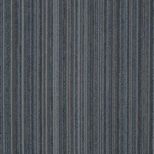Quality Hotel Striped Carpet Tiles Eco Friendly Carpet Tiles Machine Made Technics for sale