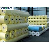 Quality Oeko - Tex Standard Spunbond Nonwoven Fabric Yellow Non Woven Polypropylene Material for sale
