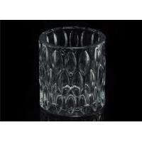 Home decoration Wedding Decorative Glass Candle Jars Glass Candle Containers