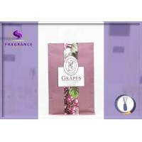 China fragrance Grapes Scented Envelope Sachet car air freshener on sale
