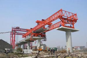 Quality 250 ton Double Truss Type Concrete Bridge Beam Launcher for sale
