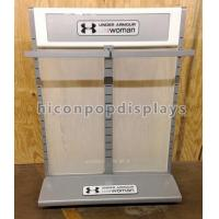 Best Double Sided Metal Display Stand High End Clothing Rack Display Furniture wholesale