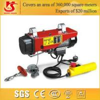Quality electric wire rope 0.5t hoist PA500 model high quality mini hoist for sale