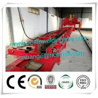 Quality H Beam Fit Up Assembling Machine , Automatic H Beam Production Line Welding Machine for sale