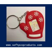 Quality Eco-firendly Rubber Silicone Soft PVC Picture Frame Key Chains for Promotional Gifts for sale