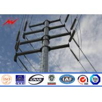 Buy cheap ASTM A572 S355 15m Power Distribution Line Pole With CO2 Welding from wholesalers