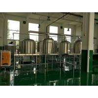 Quality Pub Microbrewery Beer Fermentation Equipment Ss Conical Fermenter 220V / 380V for sale