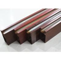 Quality Linear Aluminium Metal Drop Ceiling Tiles Metallic 0.8mm , Heat transfer coating for sale