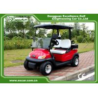 Quality EXCAR Electric Golf Car 2 Person 48V Trojan Battery / Curtis Controller for sale