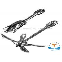 China 300mm Stainless Steel Folding Anchor , Light Duty Anchors Mirror Polish Finish on sale