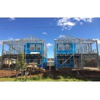 China High quality light Steel Frame Prefab Villa / Quick Assemble Prefab Homes on sale