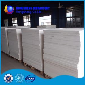 China White Heat Resistence high temperature insulation board , ceramic fibre board on sale