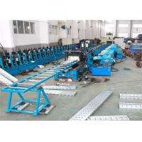 China Scaffolding Planks Sheet Roll Forming Machine 30KW 8-15m/min PLC Control System on sale