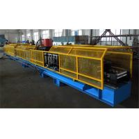 High Efficiency Cr 12 Mould Steel Roll Forming Machine , 1.5 inch Single Chain Drive