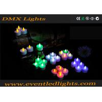 China Color Changing Led Candles With Remote , Meeting Led Votive Candles on sale