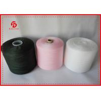 China Anti - Pilling Polyester Spun Knitting Yarn On Dying Tube / Paper Cone Eco - Friendly on sale