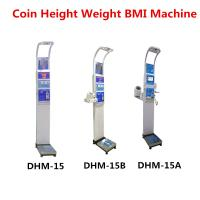 Quality Coin Operated Body Weight Height Scale , Professional Medical Grade Weight Scale for sale