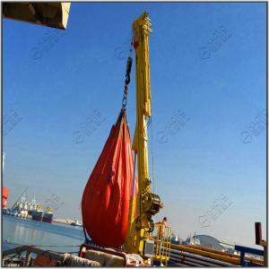 Quality Telescopic Boom Floating Dock Cargo Crane Design Offshore Crane for sale