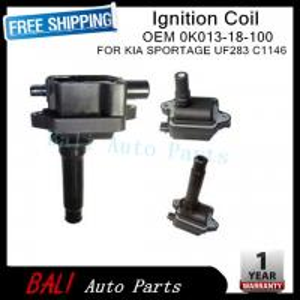 Quality Kia Ignition Coil For Kia 0k013-18-100 0K013-18-100A for sale