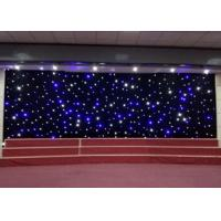 Quality Sky Effect LED Curtain Lights Stage Christmas Backdrop Decoration 0.4W High Brightness for sale