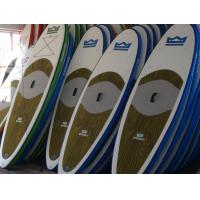 Quality Colorful Inflatable SUP Board Easy Take With 11 Feet Long 6 Inch Thickness for sale