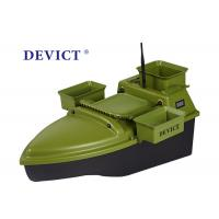 Buy cheap Lithium batter RC Fishing Bait Boat green ABS Engineering RC model from wholesalers
