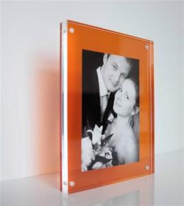 Best custom plastic photo frame clear acrylic photo frames 4x6 wholesale