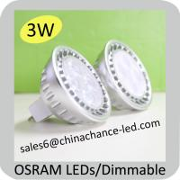 China osram 2700k high power 3w mr16 gu10 surface mounted led ceiling spotlight on sale