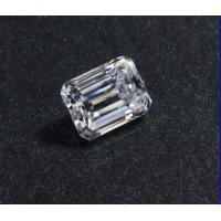 China Lab Created Clear 1.5 Carat Moissanite Gemstones / Diamonds Moissanite Emeraldt Cut on sale
