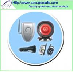 China DIY 2 Way Car Alarm System on sale