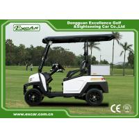 Quality EEC Approved Electric Golf Carts / White Plastic 5KW AC Golf Buggy Car for sale