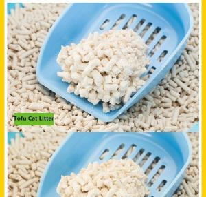 China CANETE tofu cat litter 2.0 3.0 , white kitty litter factory, cat sand litter on sale
