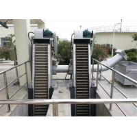 Quality Mechanical Wastewater Fine Screens Revolving Low Power Consumption for sale