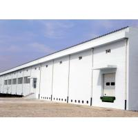 Quality Industrial steel structure workplant building with concrete wall for sale