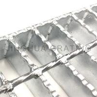 Quality Serrated Catwalk Steel Grating for sale