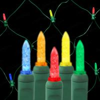 China Decorative Color Changing LED Christmas Lights 10m/string on sale