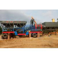 China Compact 35m3/H YHZG35 Mobile Ready Mix Concrete Plant for sale