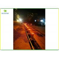 China Traffic Collapsible Automatic Rising Bollards , Drop Down Bollards Easily Assembled on sale