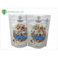 Best Barrier Zipper Stand Up Pouch PET / AL / PE Cookies Packaging Customzied size wholesale
