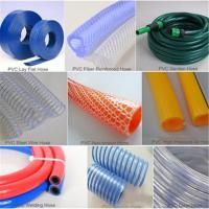 Quality PVC fiber braided transparent reinforced hose for garden use for sale