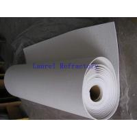Quality Ceramic Fiber Insulation Refractory Paper For Induction Coil Liner for sale