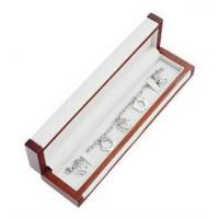 Quality Matte Painting Wooden Gift Boxes , Bracelet Woodworking Jewelry Box For Gifts for sale