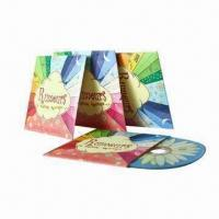 China Cardboard CD Sleeves with Full-Color Printing and Matte/Glossy Lamination Finished on sale