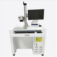 China Raycus Ipg Jewelry Ring Laser Printer Engraver Laser Marking Equipment on sale