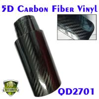 Quality 5D Carbon Fiber Car Wrapping Vinyl Film-big T-will Carbon texture for sale
