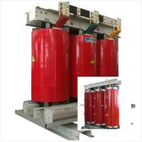 Quality Fireproof Air Cooled Transformer 6.6 KV - 800 KVA With Silicon Steel Sheet Core for sale