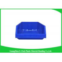 Quality Antistatic Warehouse Storage Bins 10L Colored HDPE Convenience Stores PP Material for sale