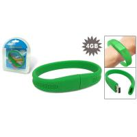 Quality Soft Silicon Colorful wristband usb drives with 512mb 1g 2g 4g 8g 16g for sale